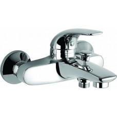 Смеситель для ванны, литой излив, d40, LA0361